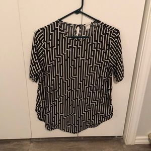 H&M top Size 10